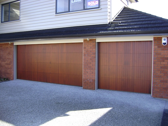 Vertical Timber Sectional Cedar Waurn Ponds Garage Doors