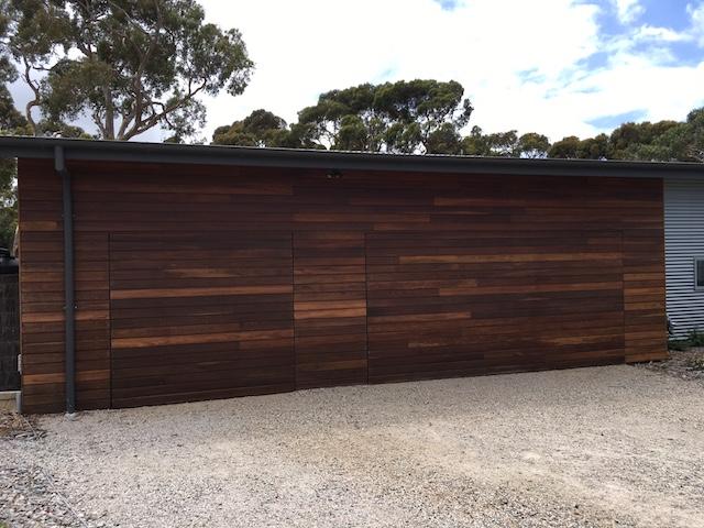 Flush Finish Horizontal Clad Tilt Door Batesford Garage Doors