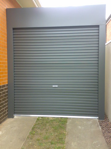 Free Standing Taurean Roller Door Newtown Garage Doors