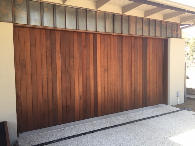 Recessed Timber Tilt Door3 Barwon Heads Garage Doors