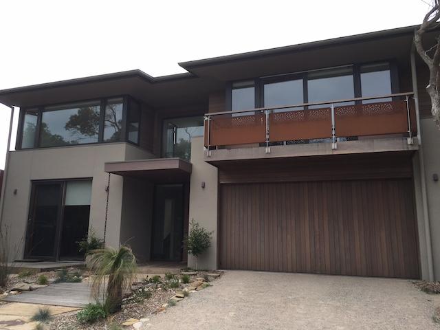 Recessed Timber Tilt Door7 Pt Lonsdale Garage Doors