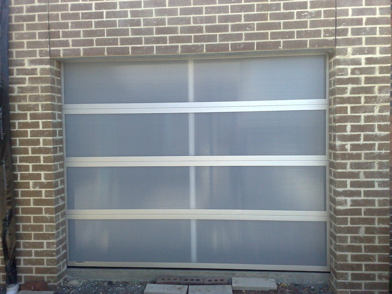 Twin Wall Polycarb Designer Door Belmont